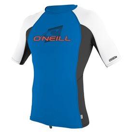 ONeill Youth Premium Skins Shortsleeve Rashguard Kinder blau im ARTS-Outdoors ONeill-Online-Shop günstig bestellen