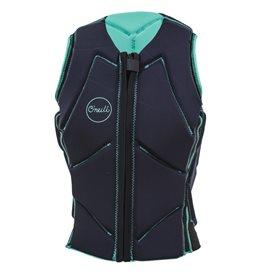 ONeill Slasher Comp Vest Damen Neopren Prallschutzweste türkis im ARTS-Outdoors ONeill-Online-Shop günstig bestellen