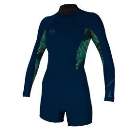 ONeill Bahia 2/1 Back Zip Longsleeve Spring Damen Neoprenanzug navy im ARTS-Outdoors ONeill-Online-Shop günstig bestellen
