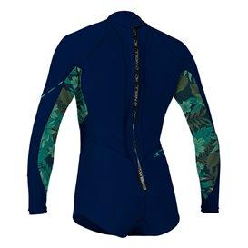 ONeill Bahia 2/1 Back Zip Longsleeve Short Spring Damen Neoprenanzug navy im ARTS-Outdoors ONeill-Online-Shop günstig bestellen