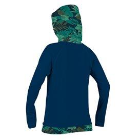 ONeill Longsleeve Print Sun Hoodie Damen Pullver navy im ARTS-Outdoors ONeill-Online-Shop günstig bestellen