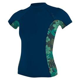 ONeill Side Print Shortsleeve Rashguard Damen navy im ARTS-Outdoors ONeill-Online-Shop günstig bestellen