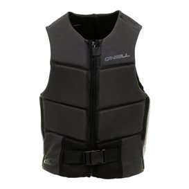 ONeill Outlaw Comp Vest Herren Neopren Prallschutzweste schwarz