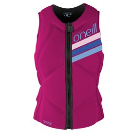 ONeill Girls Slasher Comp Vest Kinder Fullsuit Neoprenanzug lila