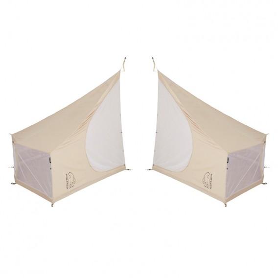 Nordisk Asgard 19.6 Basic Cabin linke + rechte Innenkabine für Technical Cotton Zelt hier im Nordisk-Shop günstig online bestell