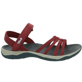 Teva Elzada Sandal Damen Leder Sandale für Trekking und Outdoor port