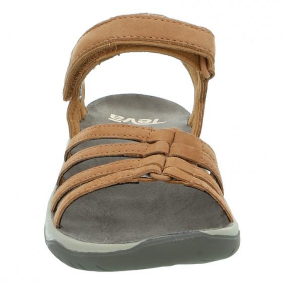Teva Elzada Sandal Damen Leder Sandale für Trekking und Outdoor pecan hier im Teva-Shop günstig online bestellen