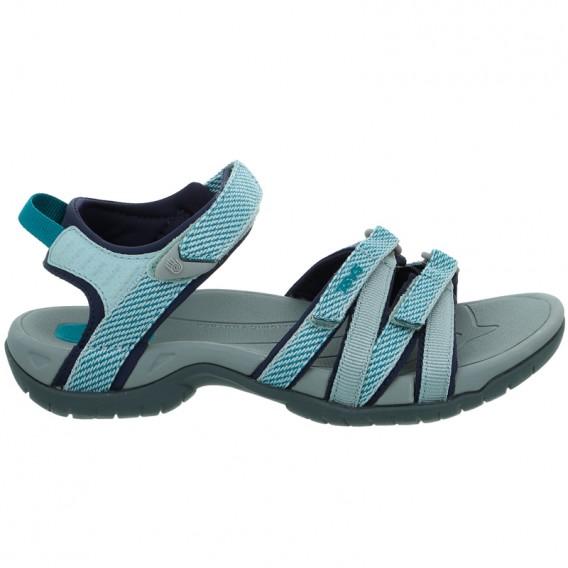 Teva Tirra Damen Sandale für Trekking und Outdoor hera gray mist hier im Teva-Shop günstig online bestellen