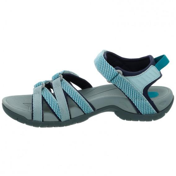 sports shoes e5bb3 7846a Teva Tirra Damen Sandale für Trekking und Outdoor hera gray mist