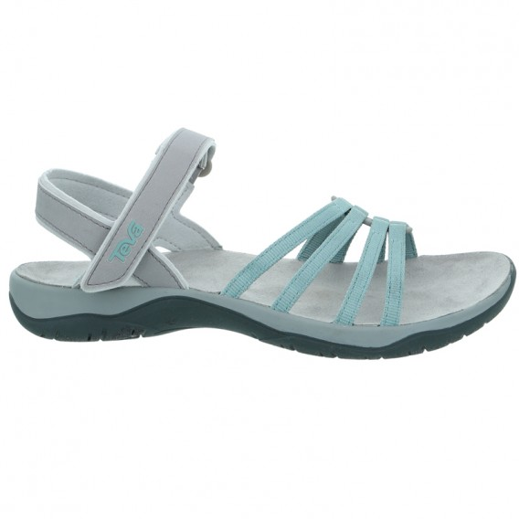 Teva Elzada Sandal Damen Sandale für Trekking und Outdoor gray mist hier im Teva-Shop günstig online bestellen