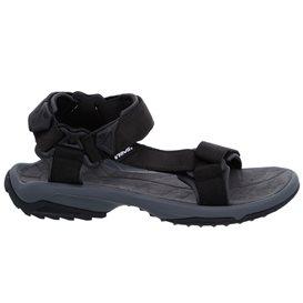 Teva Terra Fi Lite Herren Leder Sandale für Trekking und Outdoor black