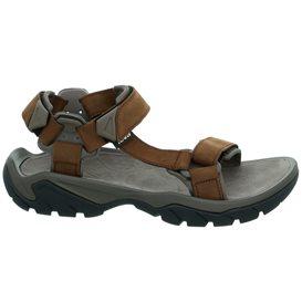 Teva Terra Fi 5 Universal Herren Leder Sandale für Trekking und Outdoor carafe