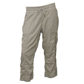 The North Face Aphrodite Capri Damen Freizeit und Wanderhose silt grey im ARTS-Outdoors The North Face-Online-Shop günstig beste