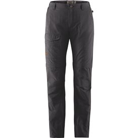 Fjällräven Traveller MT Zip-Off Trousers Damen Wanderhose Outdoorhose dark grey
