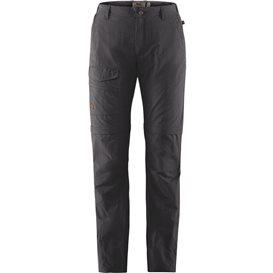 Fjällräven Traveller MT Zip-Off Trousers Damen Wanderhose Outdoorhose dark grey