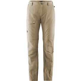 Fjällräven Traveller MT Zip-Off Trousers Damen Wanderhose Outdoorhose light beige