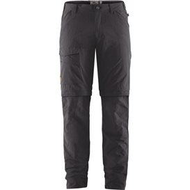 Fjällräven Traveller MT Zip-Off Trousers Herren Wanderhose Outdoorhose dark grey