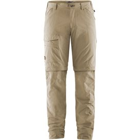 Fjällräven Traveller MT Zip-Off Trousers Herren Wanderhose Outdoorhose light beige
