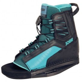 Jobe Republik Wakeboard Bindung Boots M6 schwarz-türkis