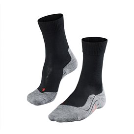 FALKE TK5 Damen Trekkingsocken Wandersocken black mix