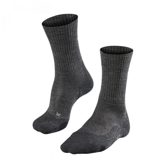 FALKE TK2 Wool Herren Trekkingsocken Wandersocken smog hier im Falke-Shop günstig online bestellen