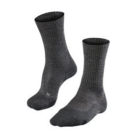 FALKE TK2 Wool Herren Trekkingsocken Wandersocken smog