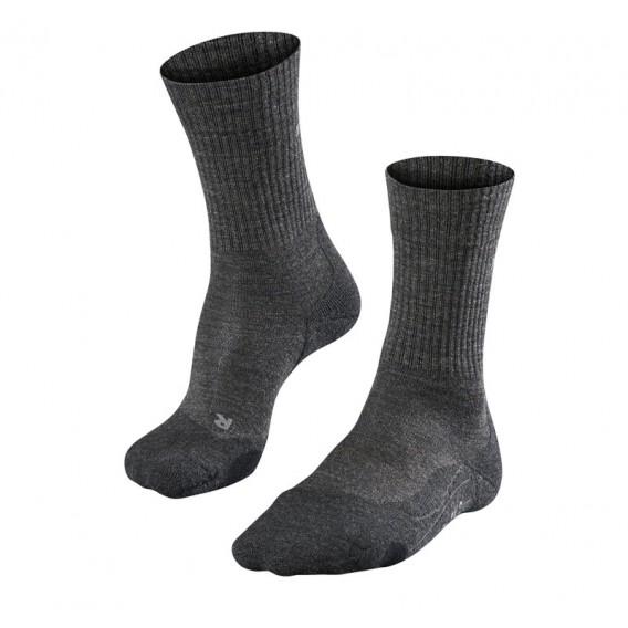 FALKE TK2 Wool Damen Trekkingsocken Wandersocken smog hier im Falke-Shop günstig online bestellen
