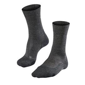 FALKE TK2 Wool Damen Trekkingsocken Wandersocken smog