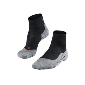 FALKE TK5 Short Damen Trekkingsocken Wandersocken black mix