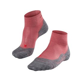 FALKE TK5 Short Damen Trekkingsocken Wandersocken mixed berry