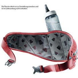 Deuter Pulse 2 Nordik Walking Hüfttasche cranberry im ARTS-Outdoors Deuter-Online-Shop günstig bestellen