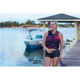 Jobe Neopren Schwimmweste Damen Prallschutzweste bordeaux rot hier im Jobe-Shop günstig online bestellen