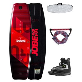 Jobe Logo Wakeboard 138 & Maze Bindung Komplett-Set Package