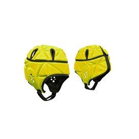 Jobe Heavy Duty Softshell Prallschutz Helm gelb