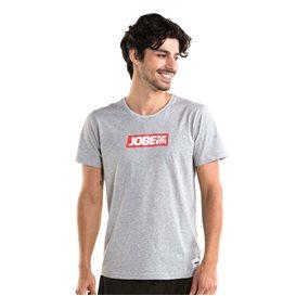 Jobe Logo T-Shirt Herren grau