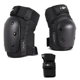 One 1-TRI Protektoren Set für Erwachsene Ellbogen - Knie - Handgelenkschützer hier im Remember Collective-Shop günstig online be