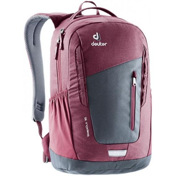 Deuter Step Out 16 Daypack Freizeitrucksack graphite-maron im ARTS-Outdoors Deuter-Online-Shop günstig bestellen