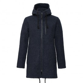 Mufflon Patrick Herren Wollmantel Wintermantel navy