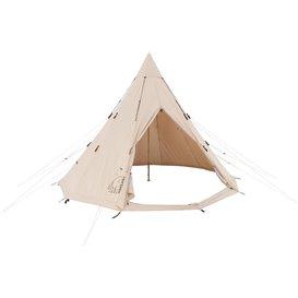 Nordisk Alfheim 12.6 Technical Cotton Tent Baumwoll Gruppenzelt Tipi für 1-6 Personen