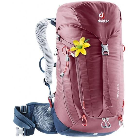 Deuter Trail 20 SL Damen Wanderrucksack 20L maron-navy im ARTS-Outdoors Deuter-Online-Shop günstig bestellen
