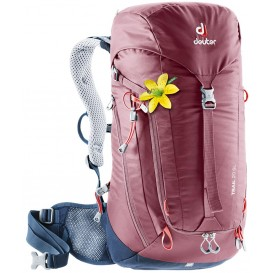 Deuter Trail 20 SL Damen Wanderrucksack 20L maron-navy im ARTS-Outdoors Deuter-Online-Shop günstig bestellen
