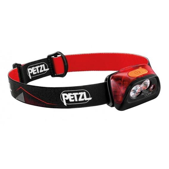 Petzl Actik Core Stirnlampe Helmlampe 450 Lumen rot hier im Petzl-Shop günstig online bestellen