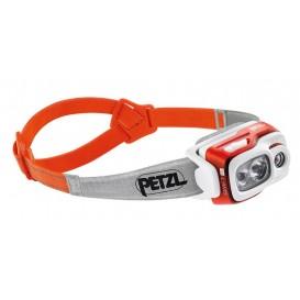 Petzl Swift RL Stirnlampe Helmlampe 900 Lumen orange