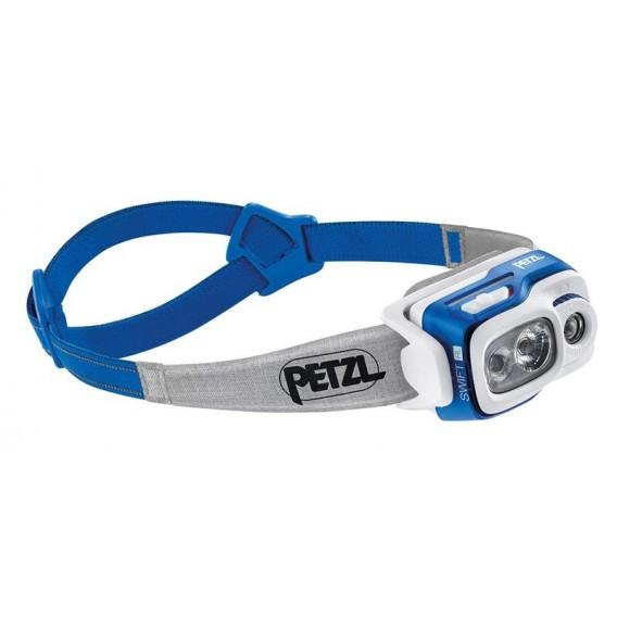 Petzl Swift RL Stirnlampe Helmlampe 900 Lumen blau hier im Petzl-Shop günstig online bestellen