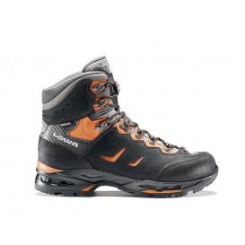 Lowa Camino GTX Herren Trekking und Bergschuh schwarz-orange