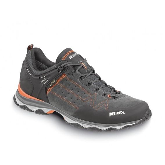 Meindl Ontario GTX Herren Wanderschuh Trekkingschuh schwarz-orange hier im Meindl-Shop günstig online bestellen