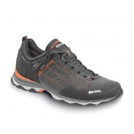 Meindl Ontario GTX Herren Wanderschuh Trekkingschuh schwarz-orange