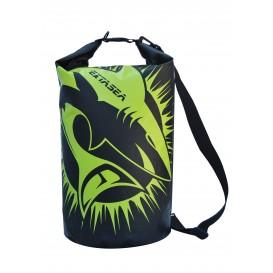 ExtaSea Dry Bag wasserdichter Packsack mit Tragegurt schwarz lime