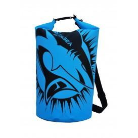 ExtaSea Dry Bag wasserdichter Packsack mit Tragegurt blau