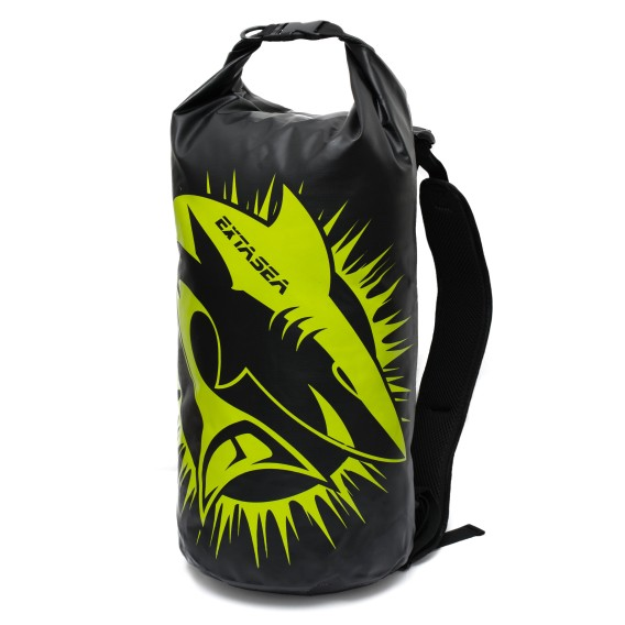 ExtaSea Dry Backpack wasserdichter Transport Rucksack Packsack schwarz lime hier im ExtaSea-Shop günstig online bestellen